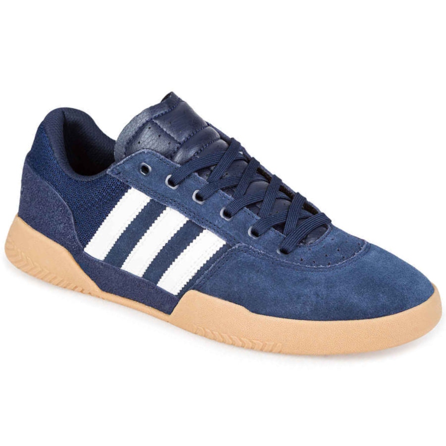 Adidas City Cup Shoes Mens - Core Navy/FTWhite/FTWhite
