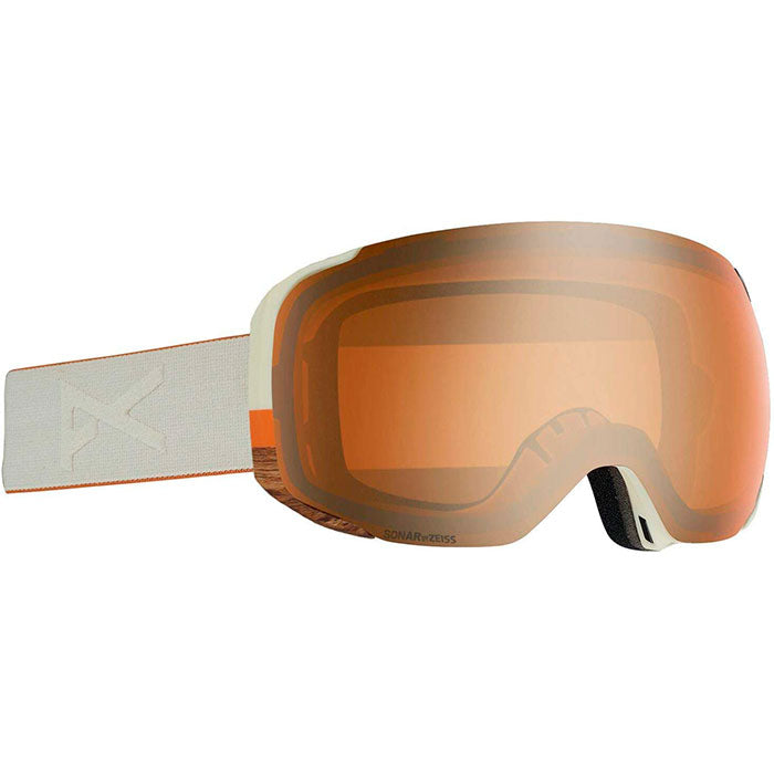 Anon Asian M2Mfi W/Spare Goggles Mens - Woody/Sonar Bronze