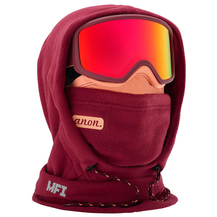 Anon Mfi Fleece Helmet Hood Womens - Purple