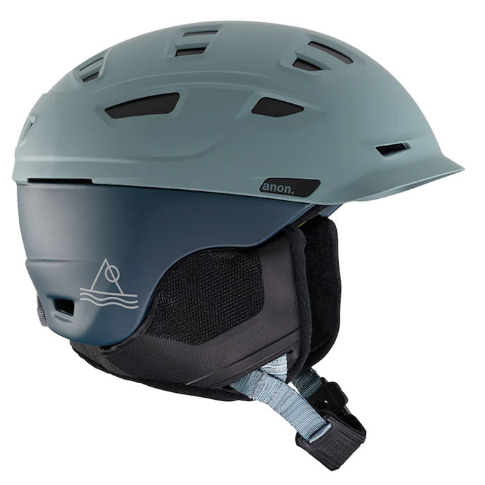 Anon Prime Mips Helmet Mens - Lay Back Gray