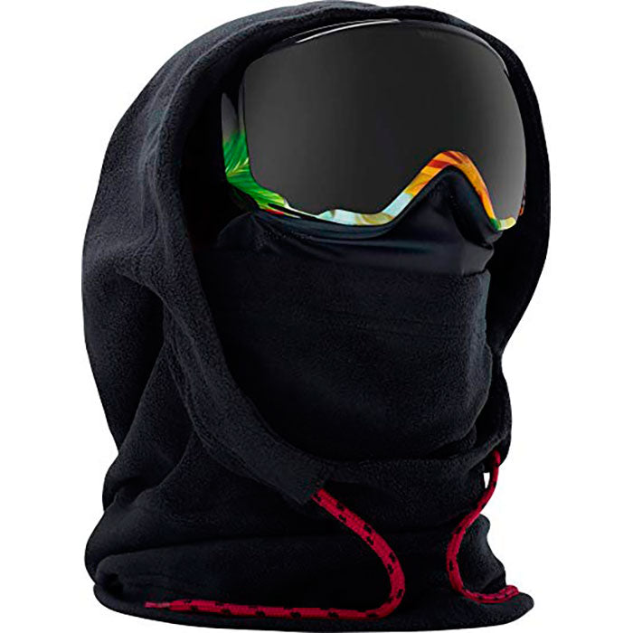 Anon Womens MFI Fleece Helmet Hood - Black