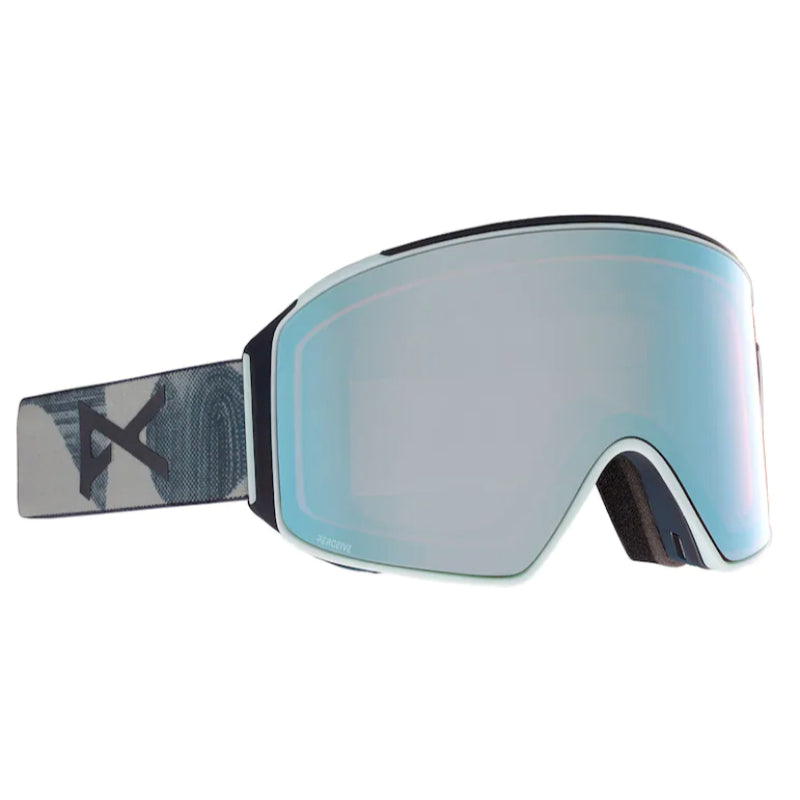Anon Asian M4 Cylndrcl Goggles Mens - Ty Williams/Perceive Variable Blue