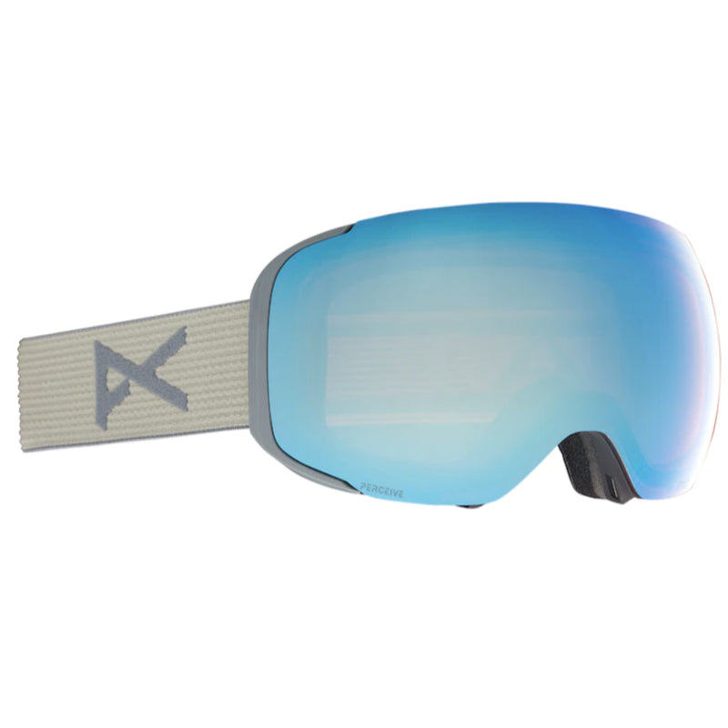 Anon M2 W/Spare Goggles Mens - Gray/Perceive Variable Blue