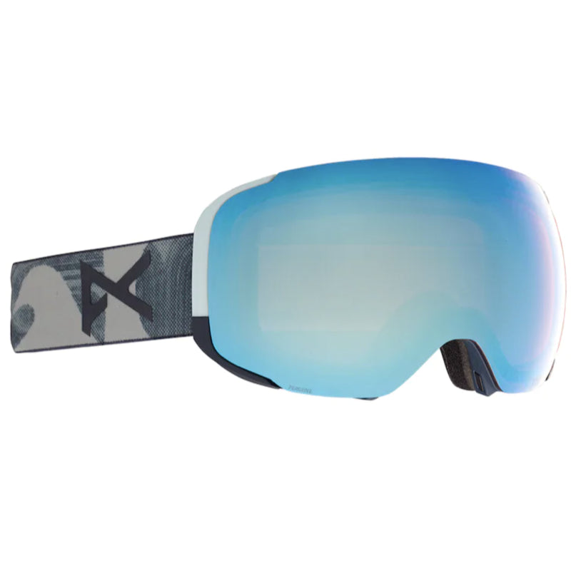 Anon M2 W/Spare Goggles Mens - Ty Williams/Perceive Variable Blue