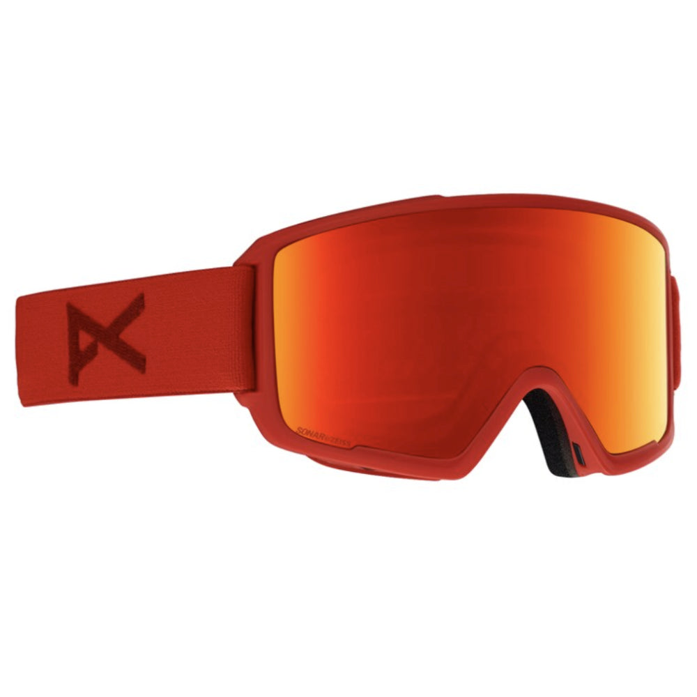 Anon M3 MFI W/Spare Goggles Mens - Red/Sonarred