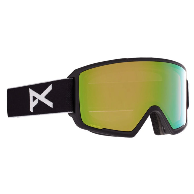Anon M3 W/Spare Goggles Mens - Black/Perceive Variable Greene