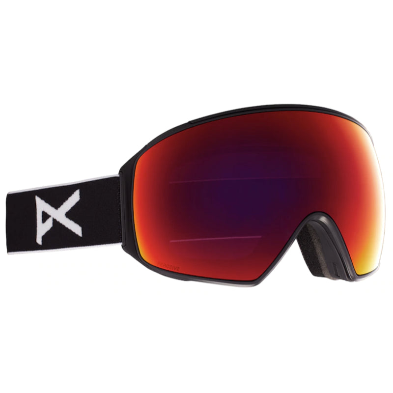 Anon M4 Toric Goggles Mens - Black/Perceive Sunny Red