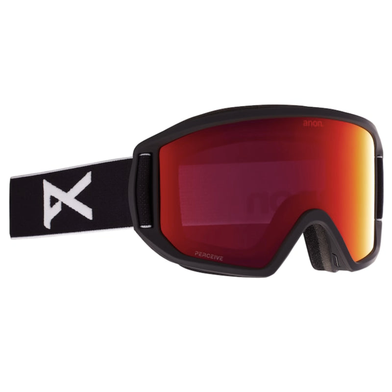 Anon Relapse Goggles Mens - Black/Perceive Sunny Red
