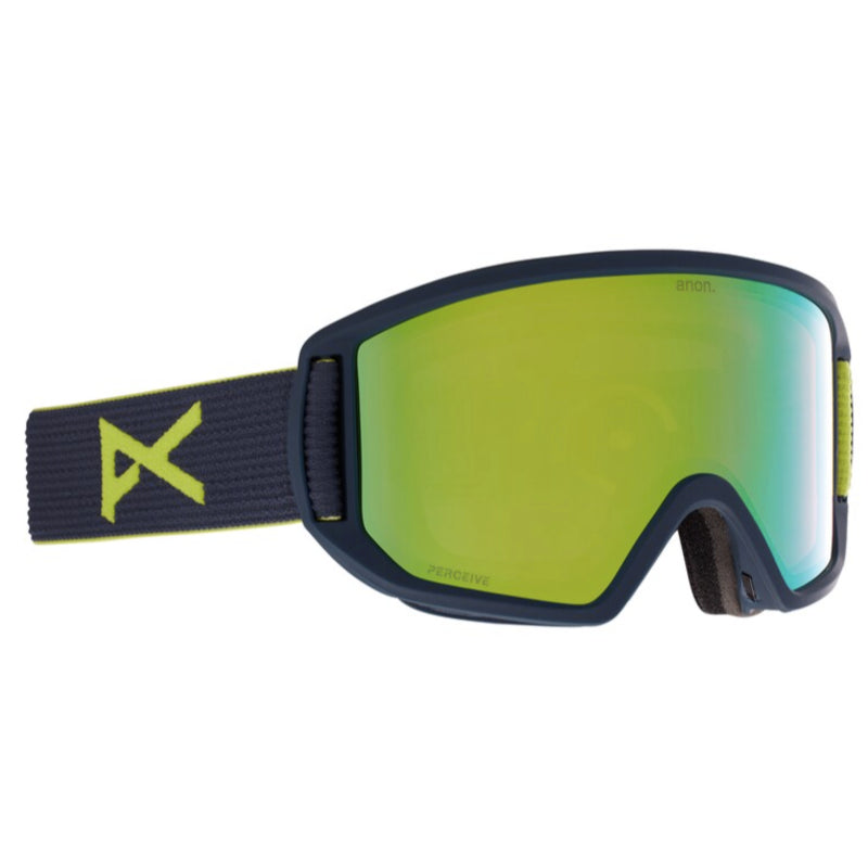 Anon Relapse Goggles Mens - Blue Split/Perceive Variable Greene