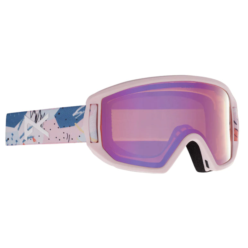 Anon Relapse MFI Goggles Juniors - Pastel Pink/Pink Amber