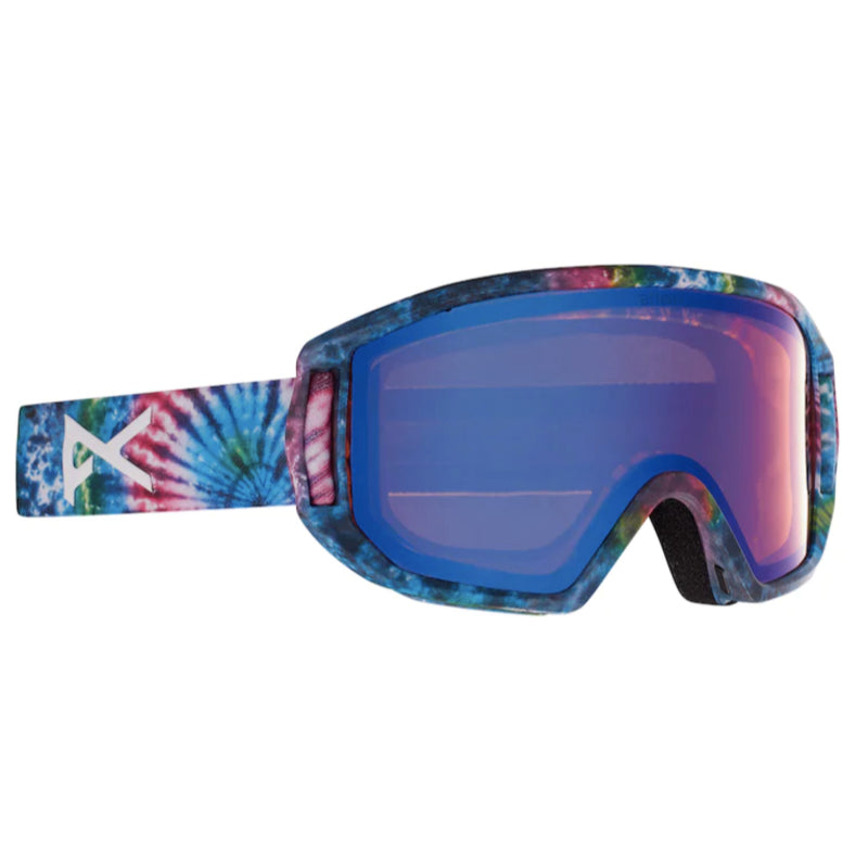 Anon Relapse MFI Goggles Juniors - Tie Dye/Blue Amber