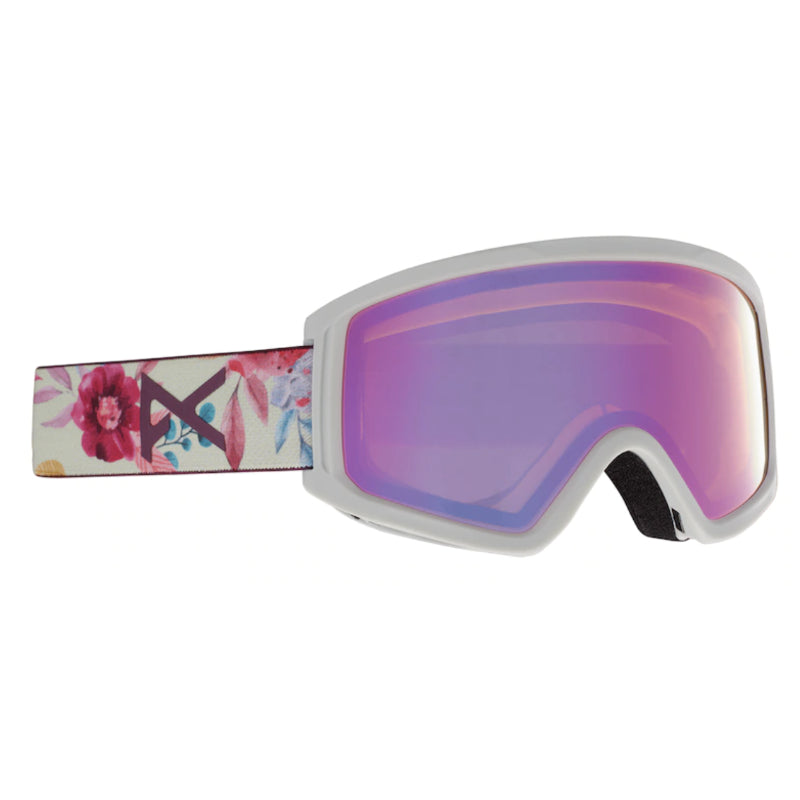 Anon Tracker 2.0 Goggles Kids - Flowers/Pink Amber