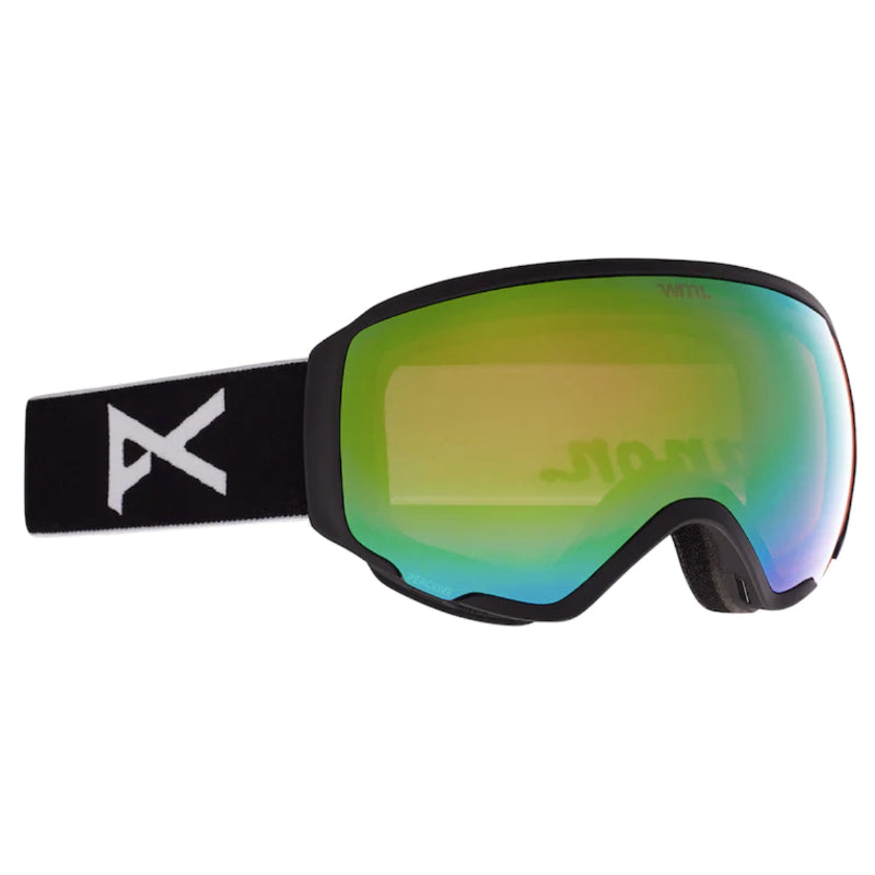 Anon Wm1 MFI W/Spare Goggles Womens - Black/Perceive Variable Greene