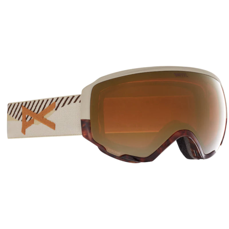 Anon Wm1 MFI W/Spare Goggles Womens - Tort3/Perceive Sunny Bronze