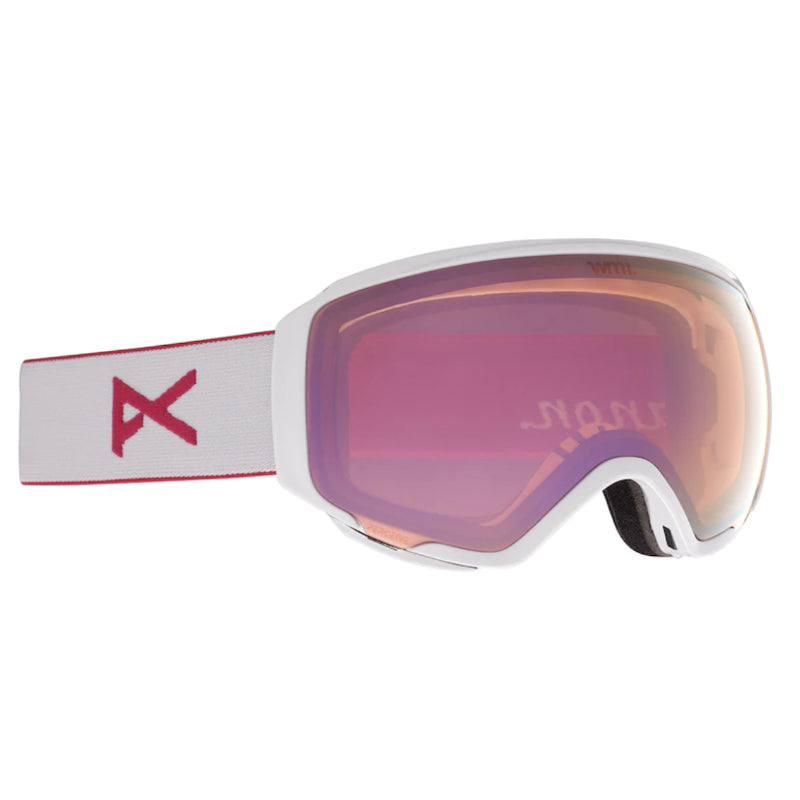 Anon Wm1 W/Spare Goggles Womens - Prlwht/Perceive Cloudy Pnk