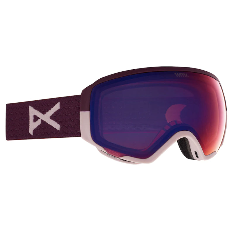 Anon Wm1 W/Spare Goggles Womens - Purple/Perceive Variable Vlt