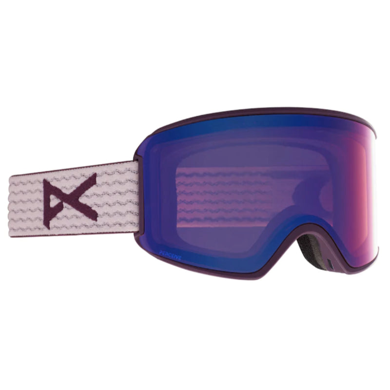 Anon Wm3 MFI W/Spare Goggles Womens - Purple/Perceive Variable Vlt