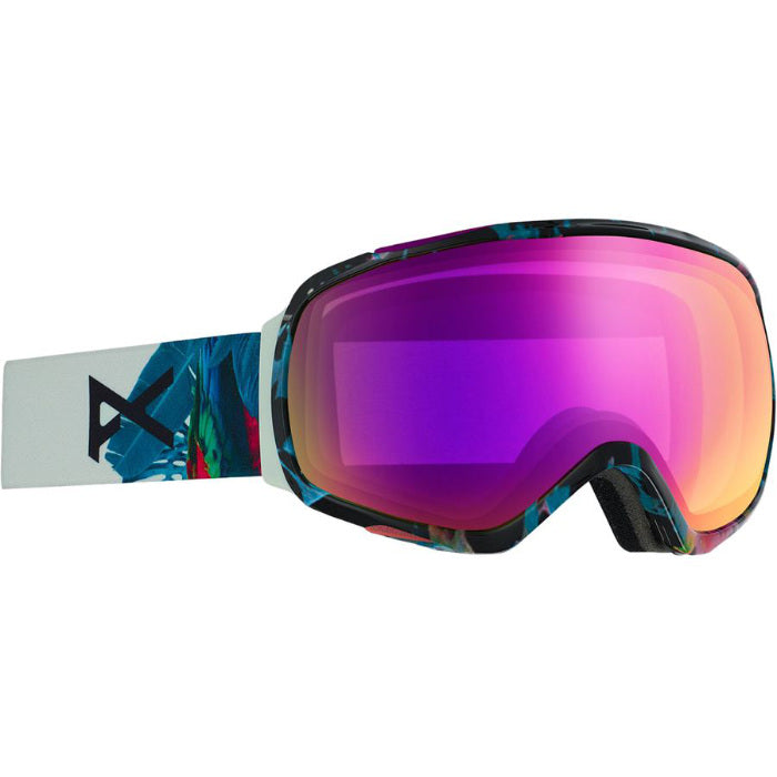 Anon Asian Tempest Mfi Goggles Womens - Parrot/Sonar Pink