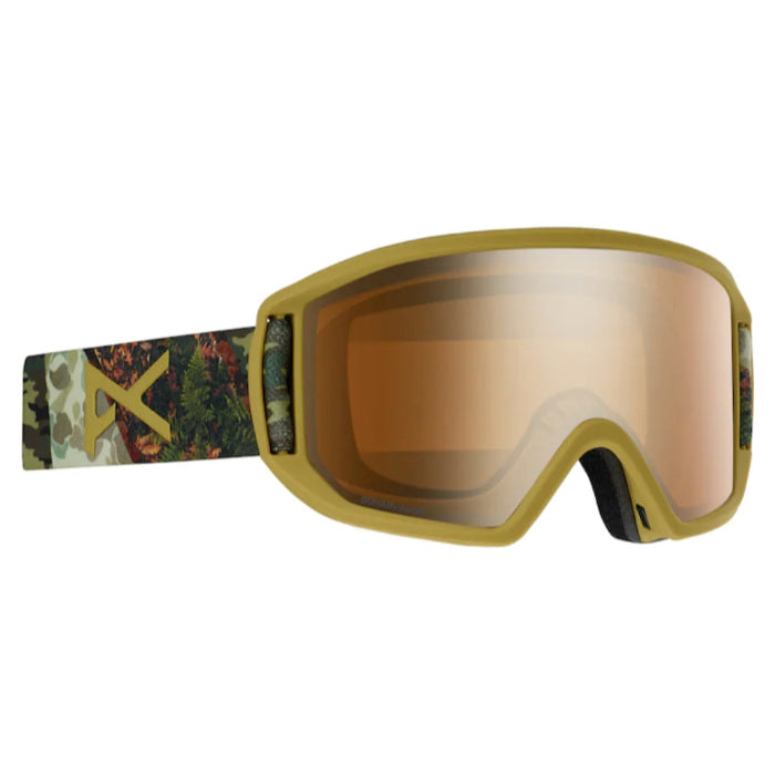 Anon Relapse Goggles Asian Fit Mens - Camo/Sonar Bronze