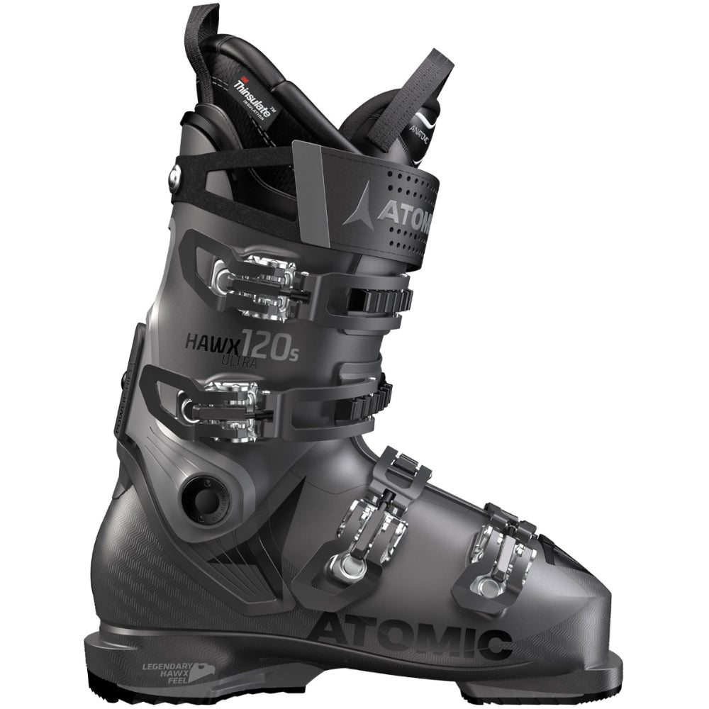 Atomic Hawx Ultra 120 Ski Boot - Mens - Anthracite/Grey