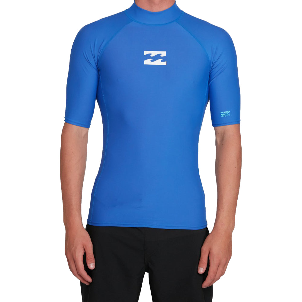 Billabong All day Wave RF SS Mens - Cobalt