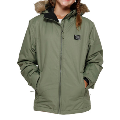 Billabong Teen Sula 2L 10K Jacket - Olive