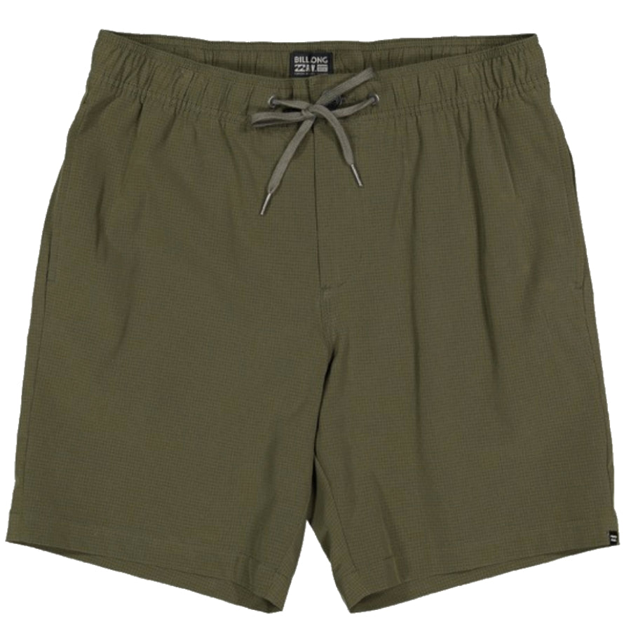 Billabong Surftek Perf Walkshort - Mens - Military Hea