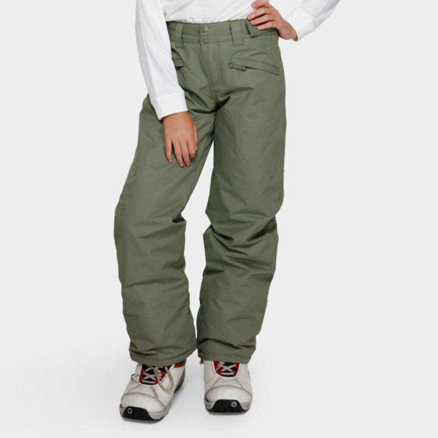 Billabong Teen Alue 2L 10K Pant Girls - Olive