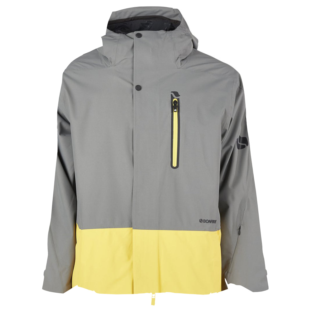 Bonfire Ether Shell Jacket Mens - Charcoal