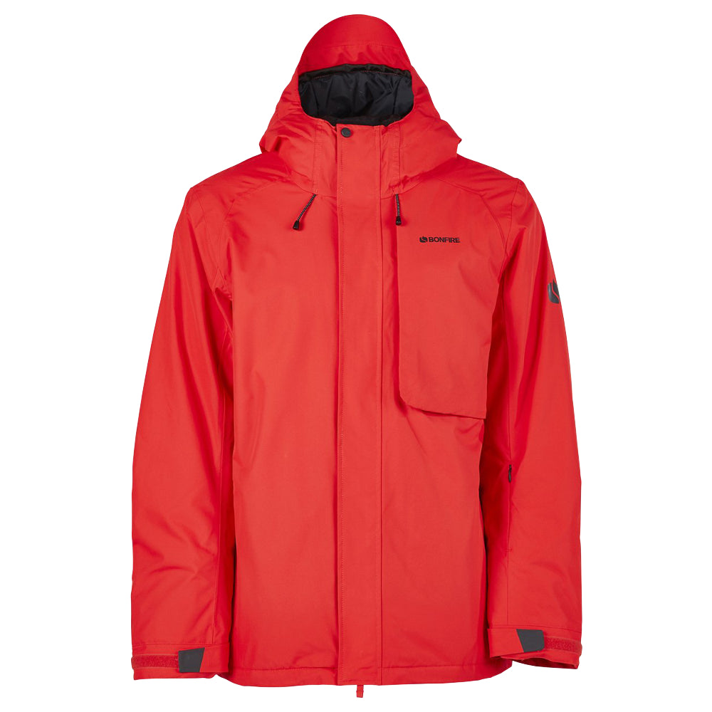 Bonfire Strata Insulated Jacket Mens - Red