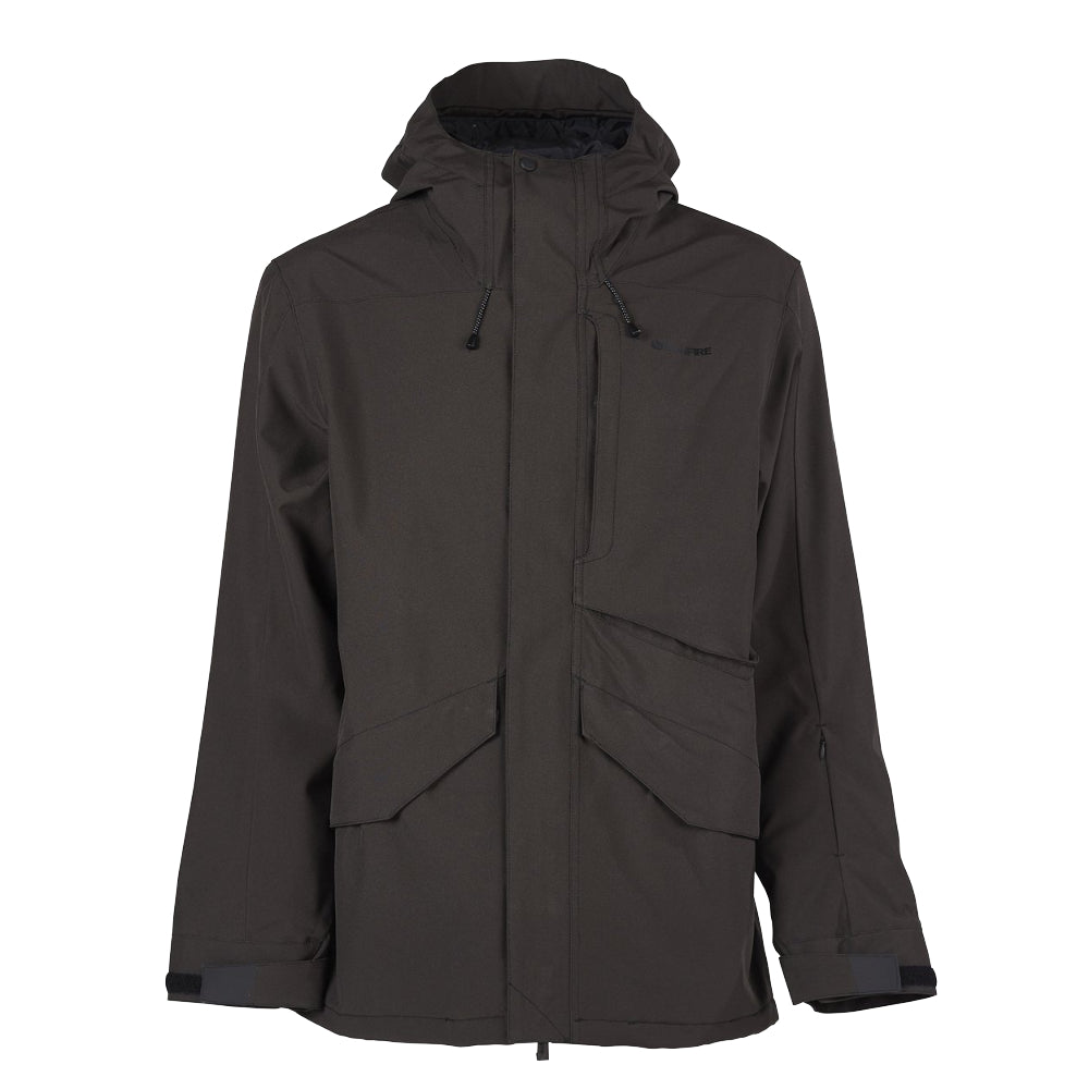 Bonfire Vector Shell Jacket Mens - Black