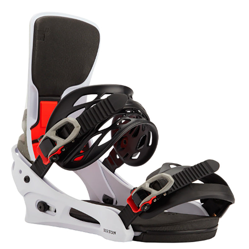 Burton Cartel X Bindings Mens - White/Black/Multi
