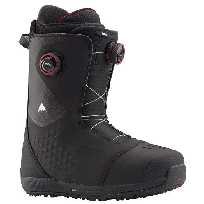 Burton Ion Boa Snowboard Boots Mens - Black/Red