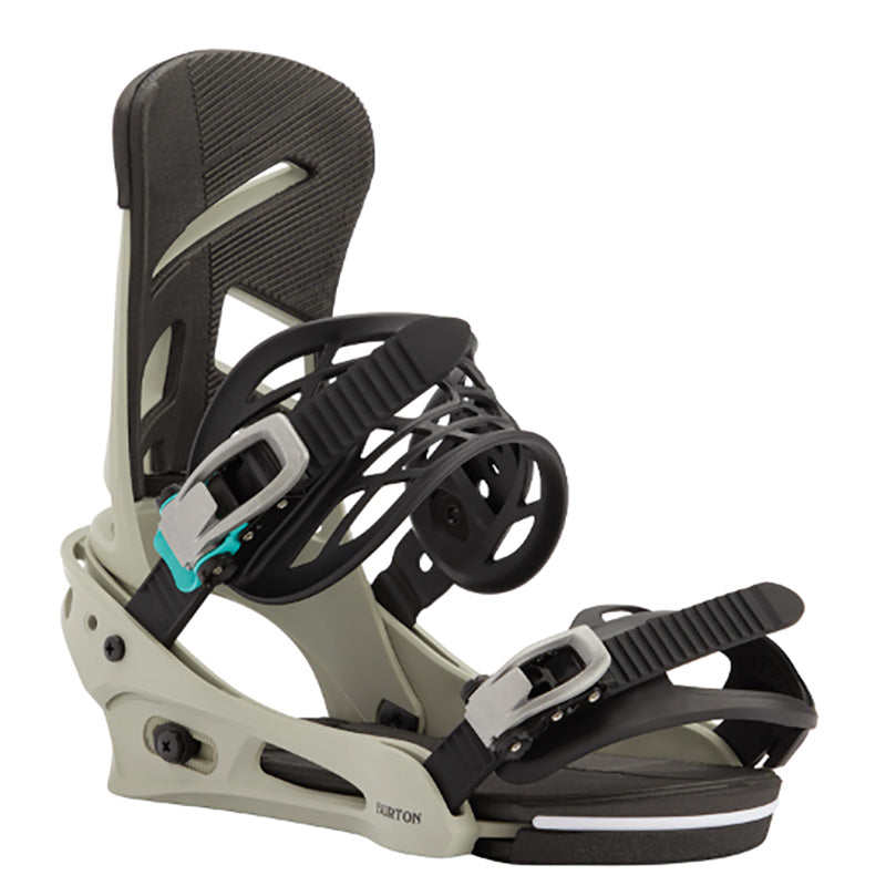 Burton Mission Bindings Mens - Gray/Green