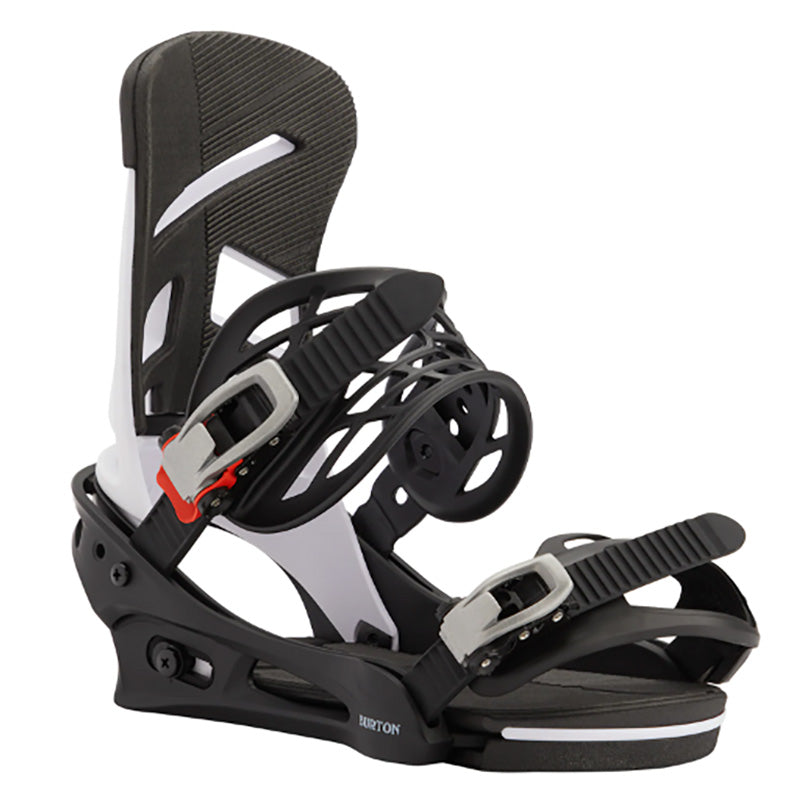 Burton Mission Bindings Mens - White/Black