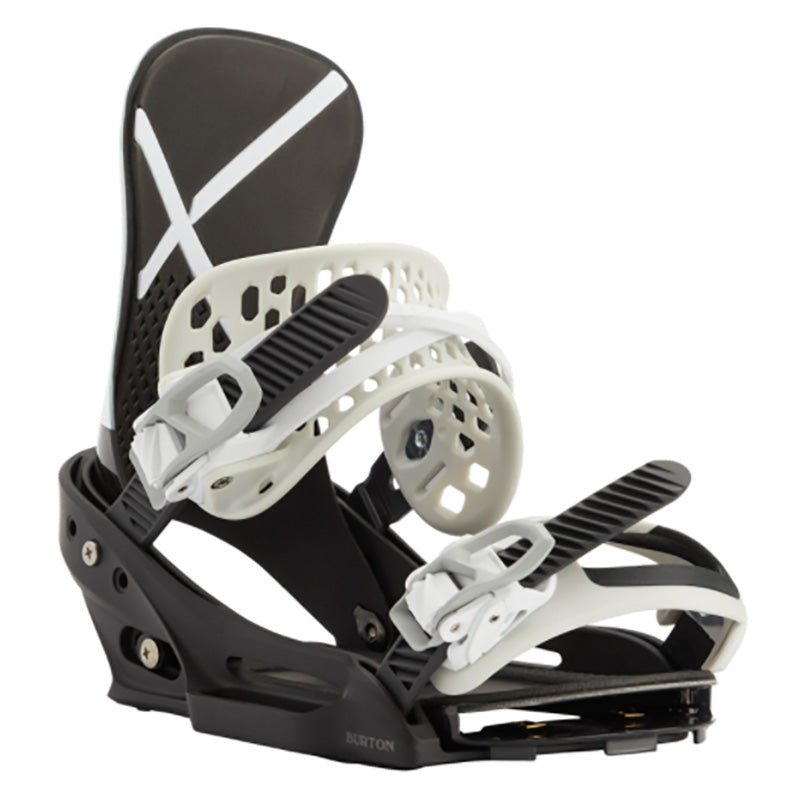Burton X EST Bindings Mens - White/Black