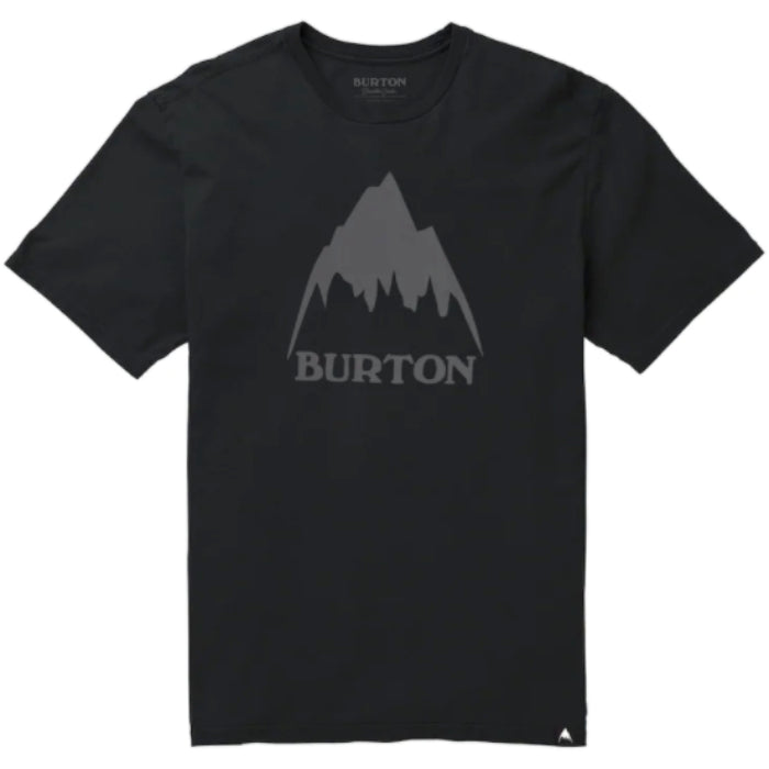 Burton Classic Mountain High Tshirt Mens - True Black