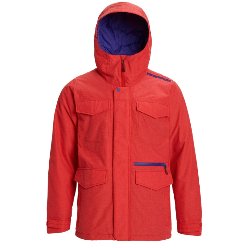 Burton Covert Jacket Mens - Flame Scarlet