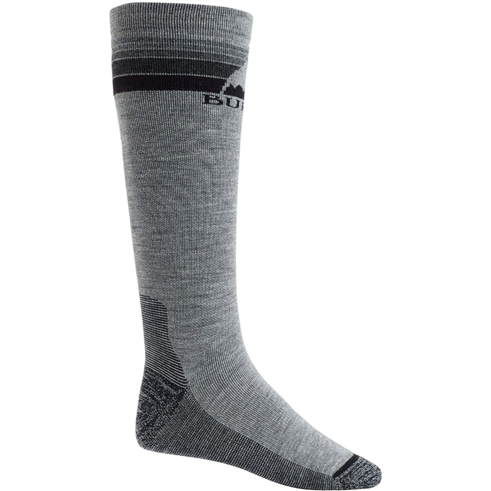Burton Emblem Midweight Socks Mens - Gray Heather