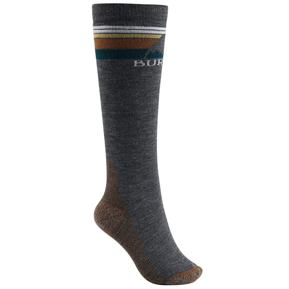 Burton Emblem Midweight Socks Womens - True Black