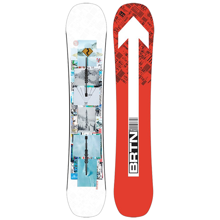 Burton Flight Attendant Snowboard Mens 2022 - 159