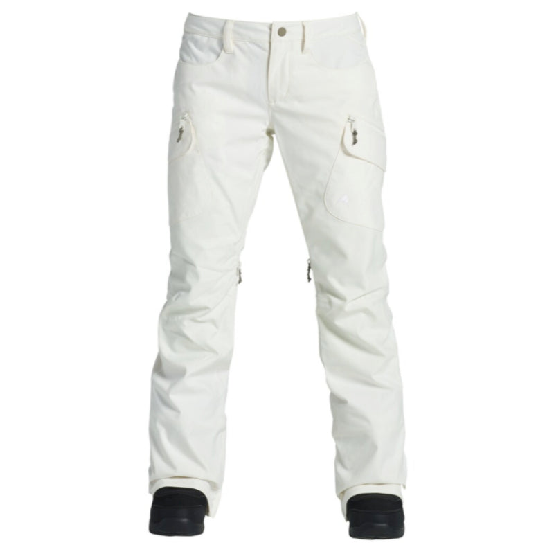 Burton Gloria Insulated Pants Womens - Stout White