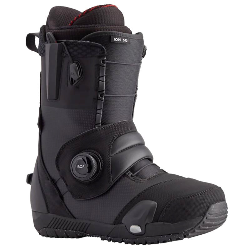 Burton Ion Step On Boots Black and Step On Bindings Gray