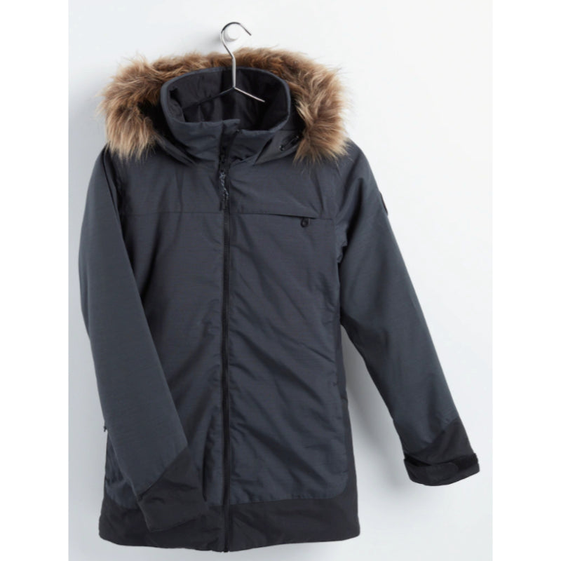 Burton Lelah Jacket Womens - Heather Black/Trublk