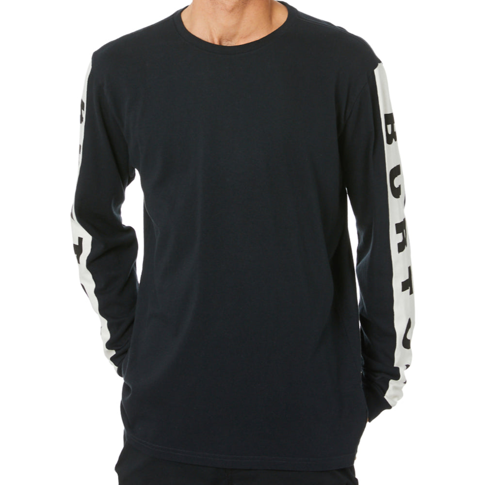 Burton Lowball L/S Tee Mens - True Black