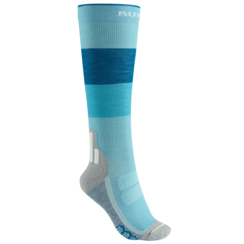 Burton Performance Ultralight Compression Socks Womens - Blue Curacao