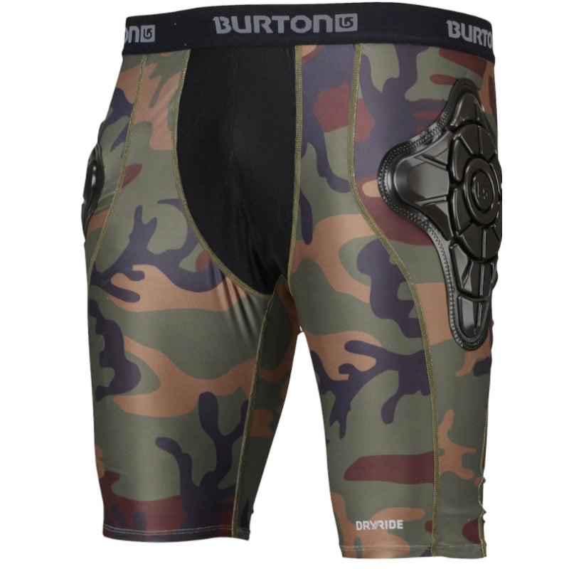 Burton Total Impact Shorts Mens - Highland Camo