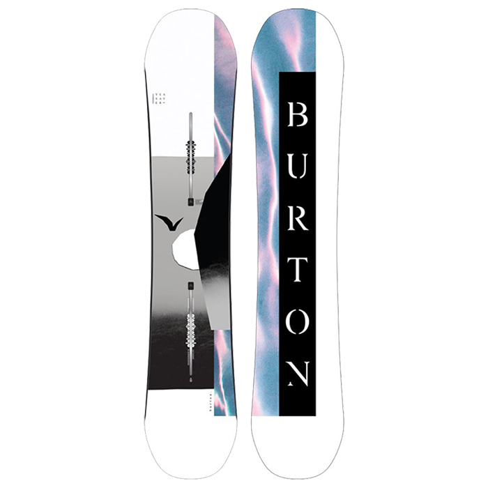 Burton Yeasayer Flat Top Snowboard Womens 2022 - 144