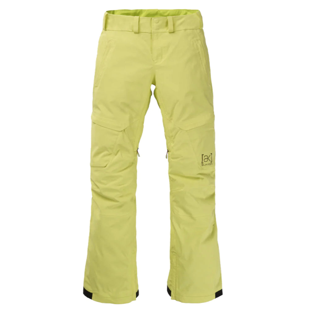 Burton AK Gore Summit Insulated Pants Womens - Sunny Lime