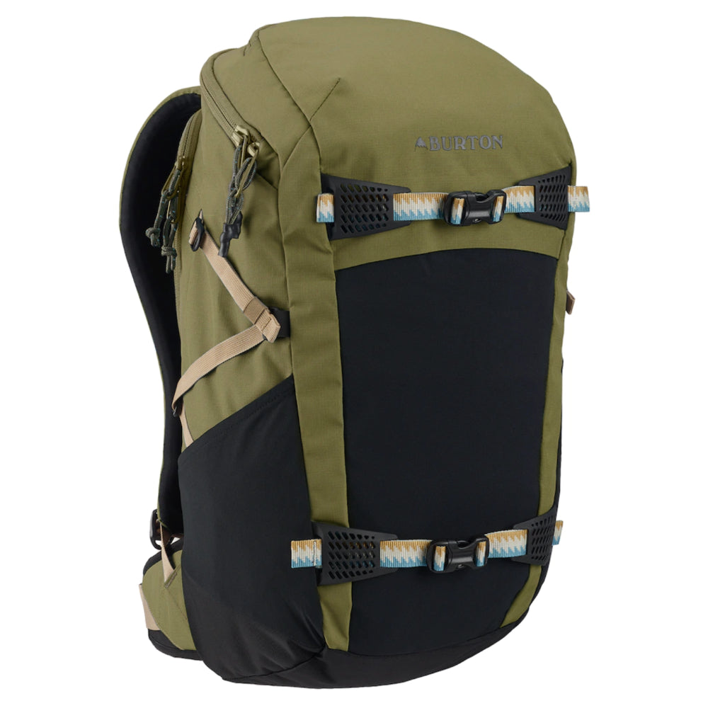 Burton Day Hiker 31L Pack - Martini Olive Trip Ripstop